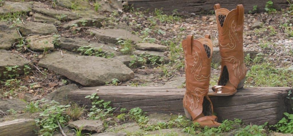 Redneck Boot Sandals - Pioneering Texans Unite