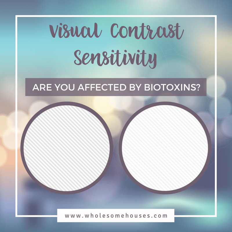 Example of Visual Contrast Sensitivity Test - Are you affected by biotoxins