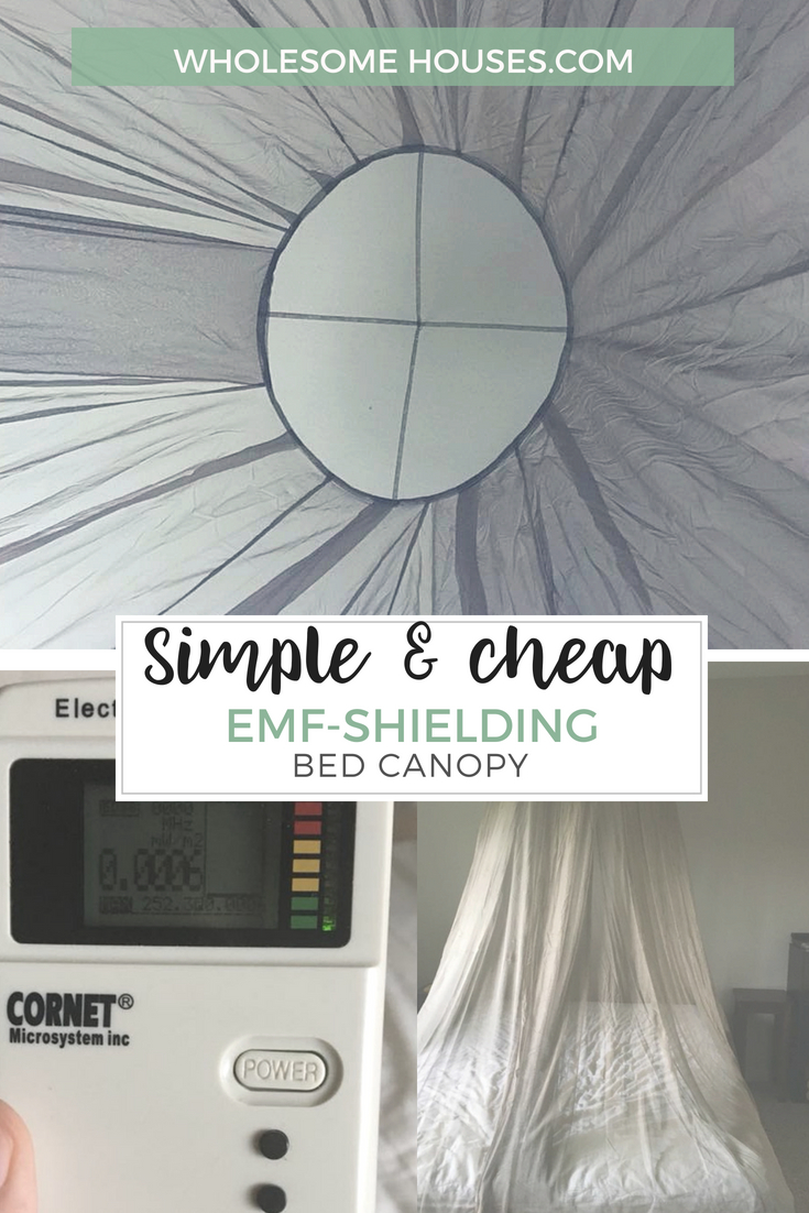 How-to Build It: EMF-Shielding Bed Canopy » Wholesome Houses
